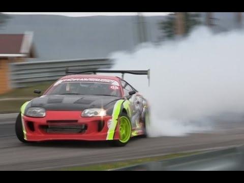 MAD Supra 2JZ Driftmonkey drifting !
