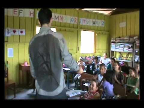 Escola Municipal Getúlio Vargas II em Paranaíta/MT - Exposição Oficina UHE Teles Pires