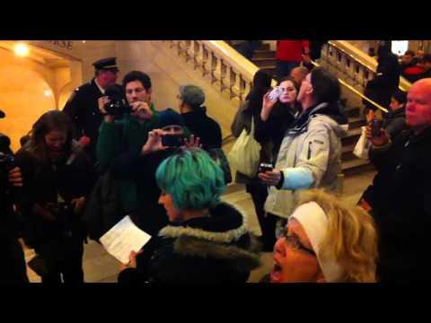 #J3 #NDAA Grand Central Arrest #ows
