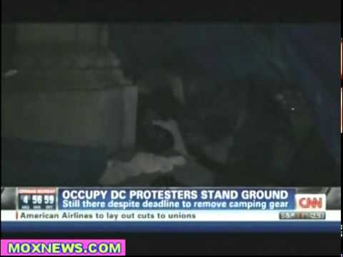 Occupy Washington DC Protesters Stand Their Ground After Receiving Eviction Notice