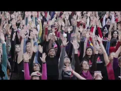 One Billion Rising flash mob