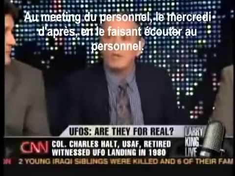 OVNI la CNN confirme et les officiers dévoilent..