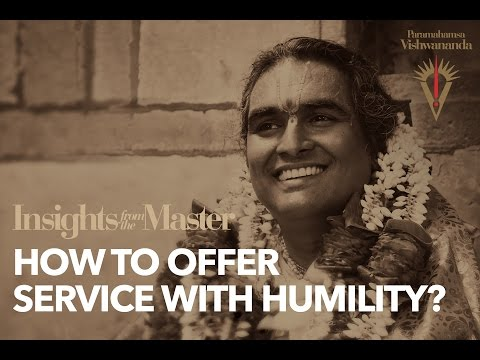 Serving with Humility - Insights from the Master