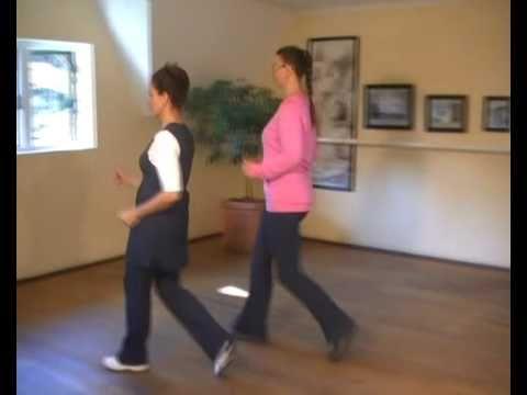 Correct walking techniques