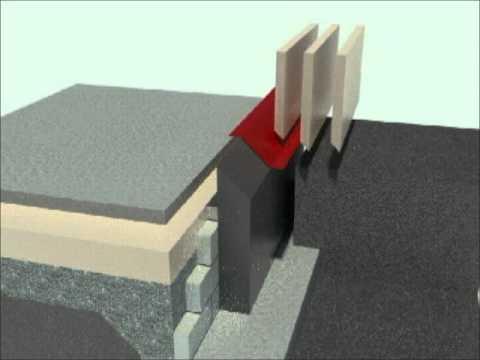 detail základů pasivního domu