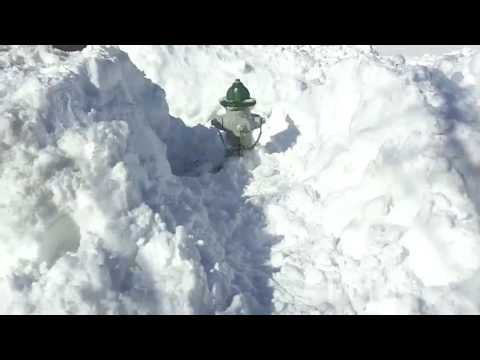 Clearing Fire Hydrants