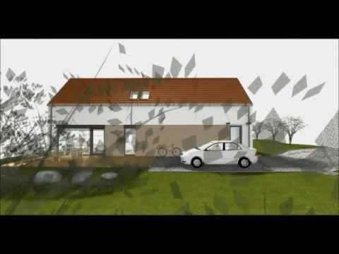 Pasivní rodinný dům - připravená výstavba 5 domů na Strakově vrchu v obci Chcelčice u města Vodňany