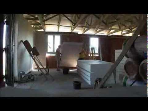 Výstavba rodinného domu s vnitřním zateplením (2013)