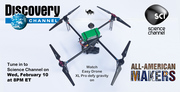 Watch Easy Drone defy gravity on Discovery Channel