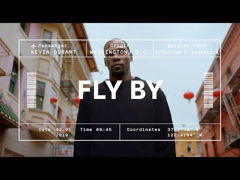 Kevin Durant's Guide to San Francisco | ALASKA AIR FLY BY