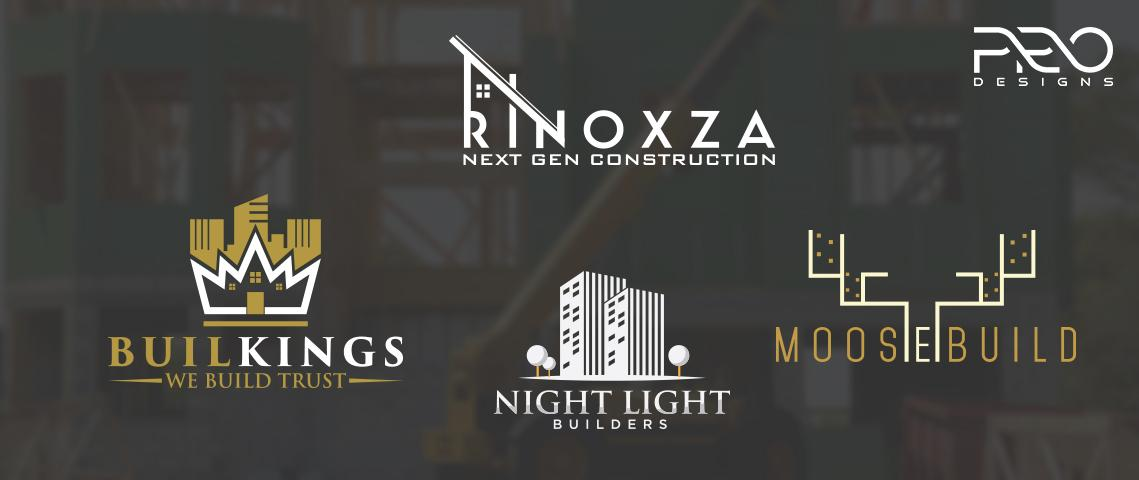 Construction and Contractors Logo Design - cover