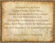 druid vow