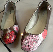 peonies shoes 002