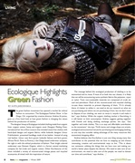 Ecologique Featured in Footprint Mag Article
