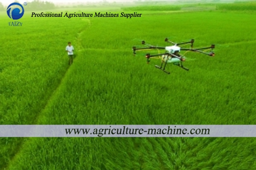 Does the plant protection drone replace the traditional sprayer for
