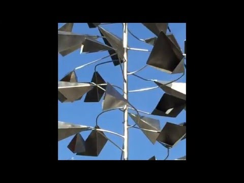 Reflections: Wind Sculpture - Lincoln Avenue, San Jose, CA