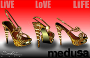 Medusa shoe design