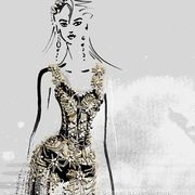 New Fashion Illustration Design By Margarete Gockel