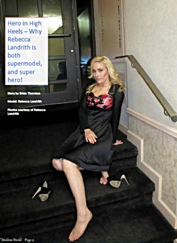 Modern Model Magazine 5 page Feature