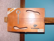 Cohiba Box w/Spoon Sound Holes