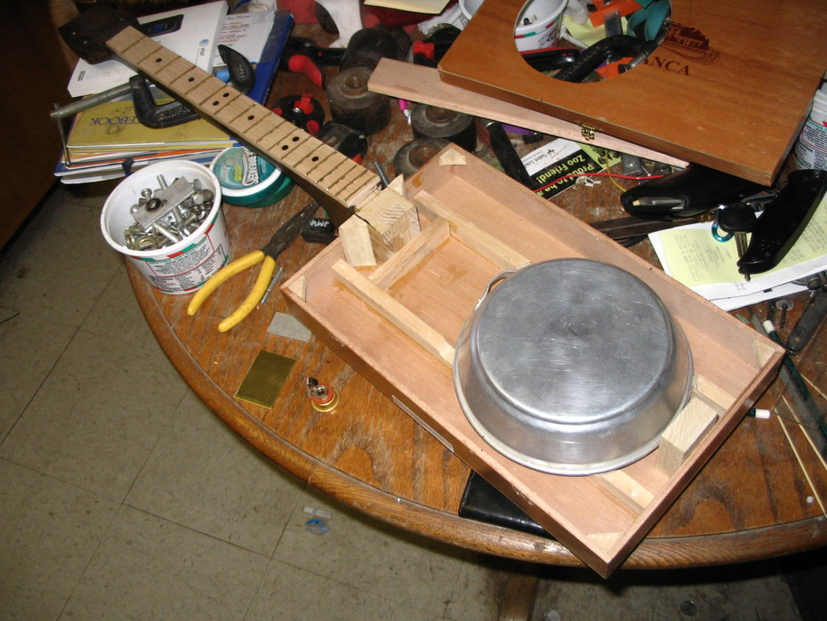Resonator build, in progress