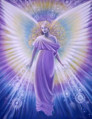 angel agente divino lilas