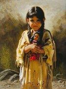 indiazinha e a boneca