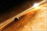 Exoplaneta e seu Sistema Solar
