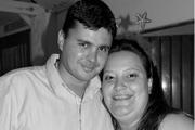 Eu e meu marido na formatura...