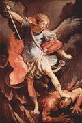 São Miguel Arcanjo defendei-nos no combate, cobri-nos com vosso escudo contra os embustes e ciladas do demônio. Amém.