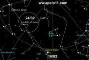 céu do cometa