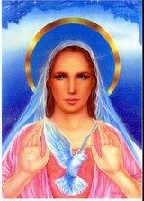 Soberana Virgem Mãe juntamente com Shekinah (espirito Santo)