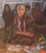 Ganga durante a Iniciação Bramínica