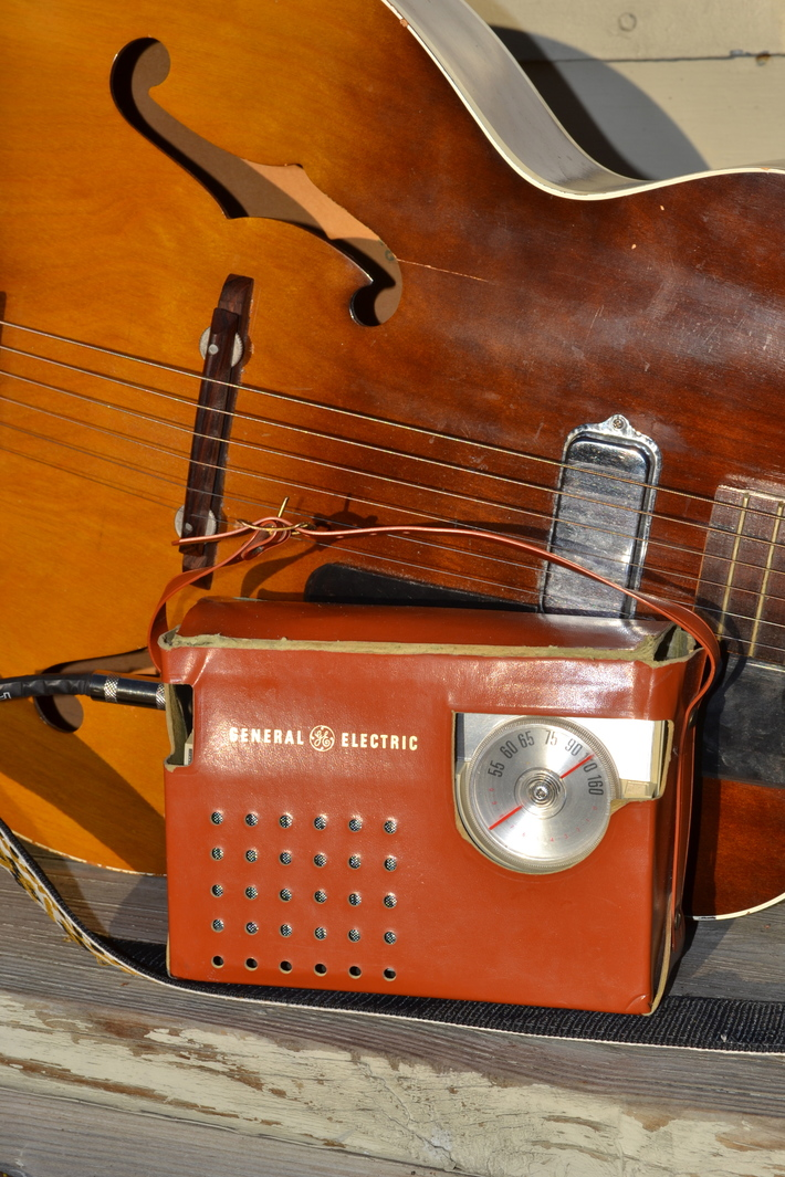 Upcycled practice Guitar Amplifier