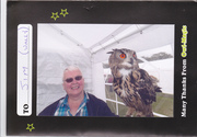 Jamie MacBlues and his Owl