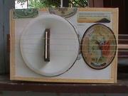 Cigar Box 5 string Banjo
