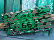 route 66 license plate 3 stringer