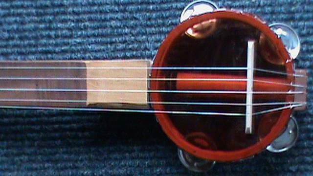 Plastic Bottle Head Banjo