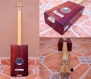 Rustic 2 String Box Guitar
