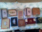 10 baby cigar box guitars