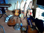 Collection update guitar  family photo