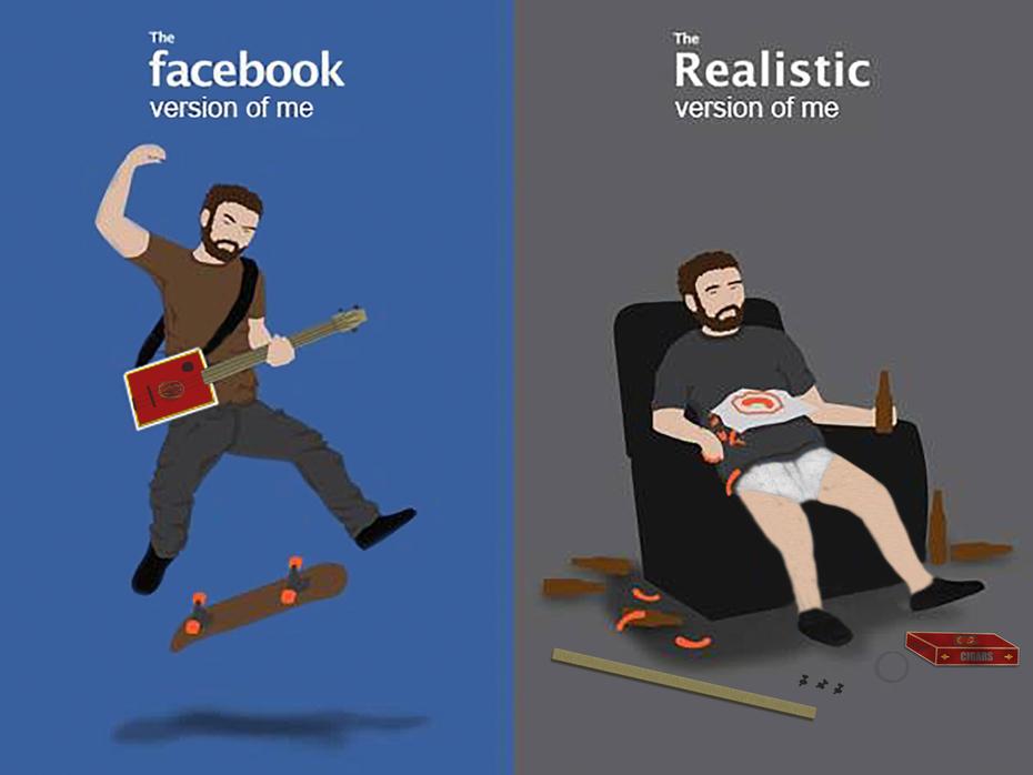 Online Me vs. Real Me