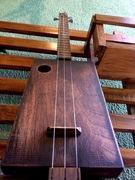 New Cigar Box Guitar Project 3 Strings