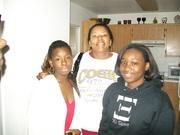 My niece A.J, Sister Lisha & eldest daughter Lonnice
