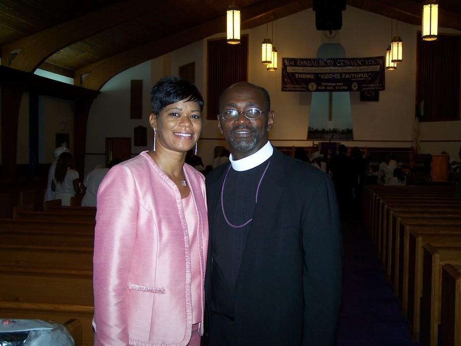 My friends 2nd Admin. Asst. Otis & First Lady Donna Eanes