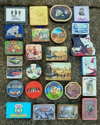My tins awaiting...
