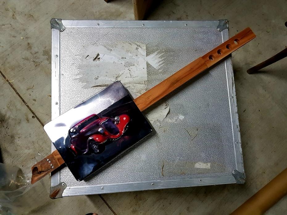 Hot Rod tin - WIP