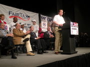 John Oxendine at Fair Tax Truth Rally
