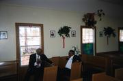 Pastor Jackson and Dea.Harris