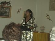 Minister Catinia Francis